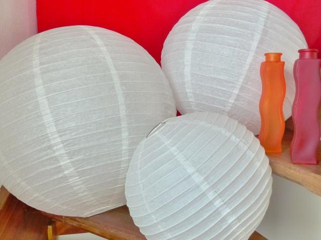 Boules japonaises papier
