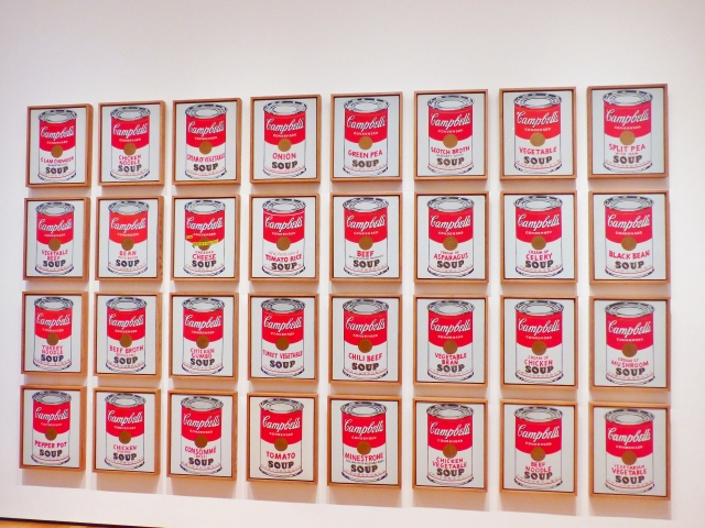 MoMA - Campbell's Soup Cans, Warhol