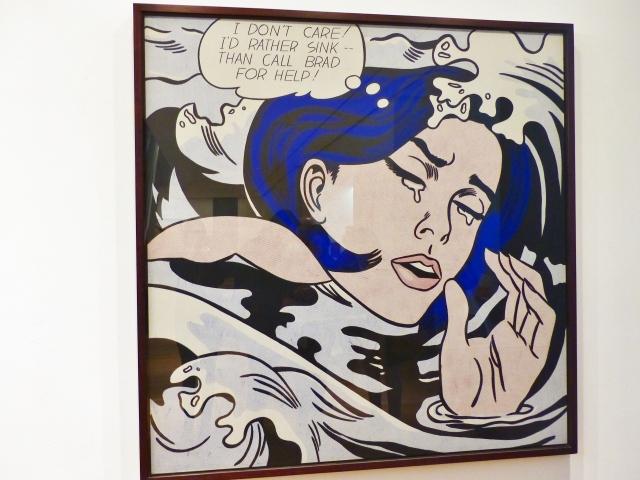 MoMA - Drowning Girl, Lichtenstein
