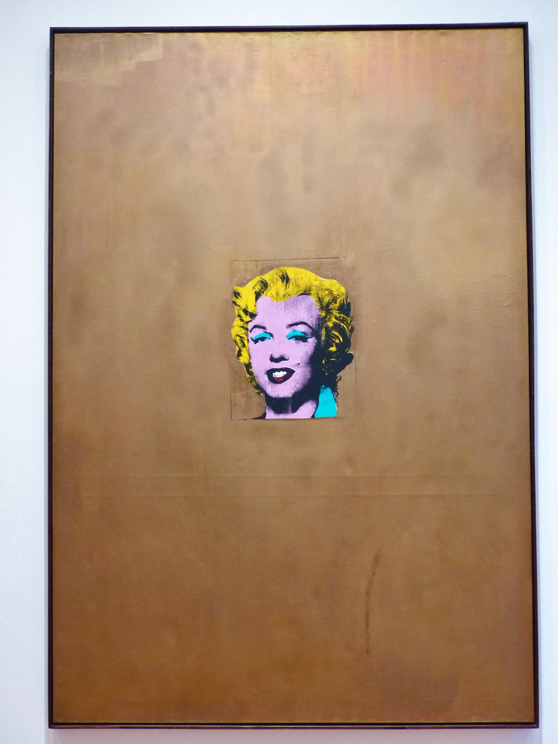 MoMA - Gold Marilyn Monroe, Warhol