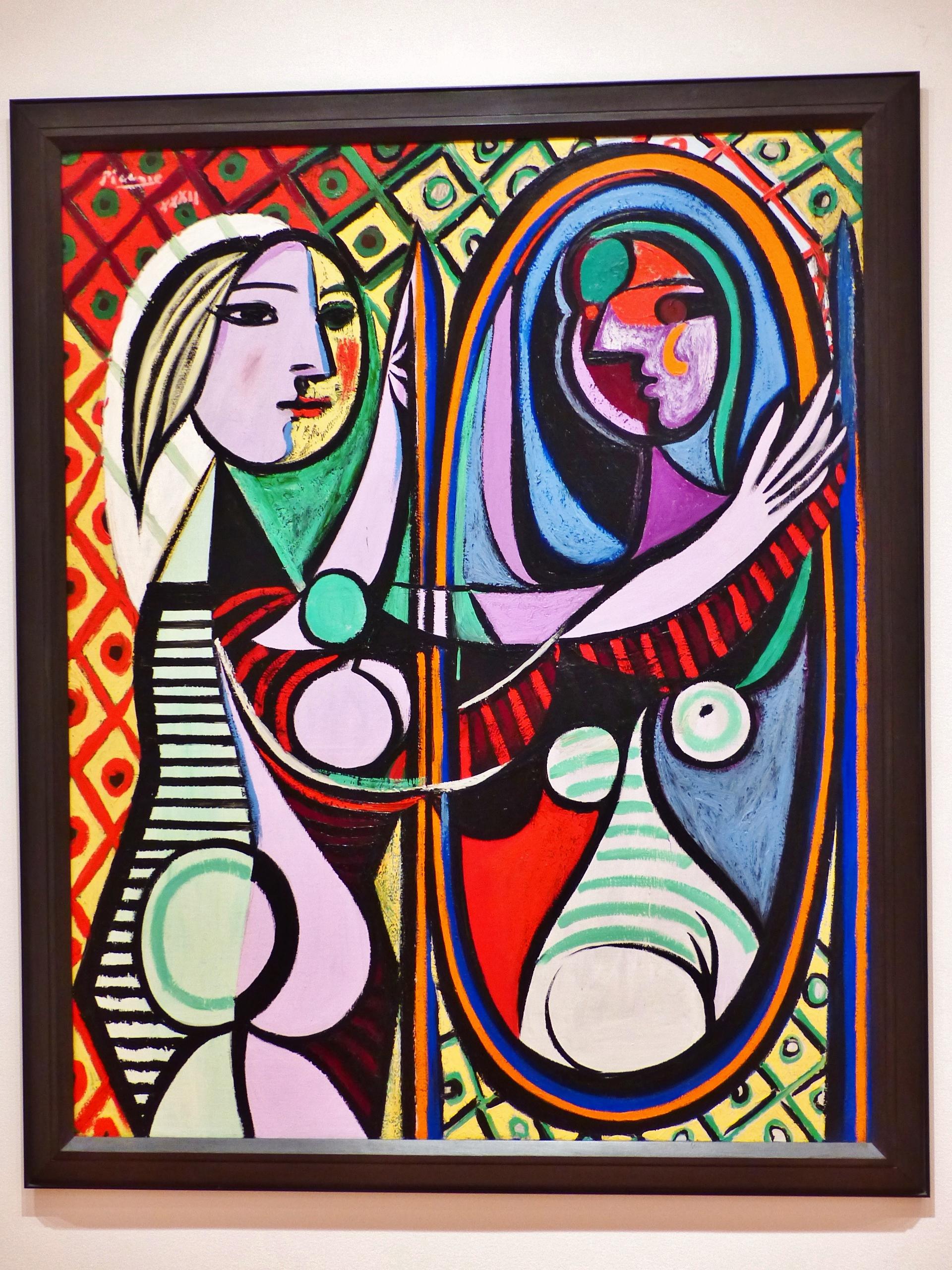 MoMA - Jeune fille devant un miroir, Picasso