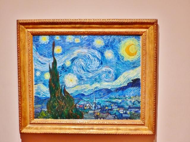 MoMA - La Nuit etoilee, Van Gogh