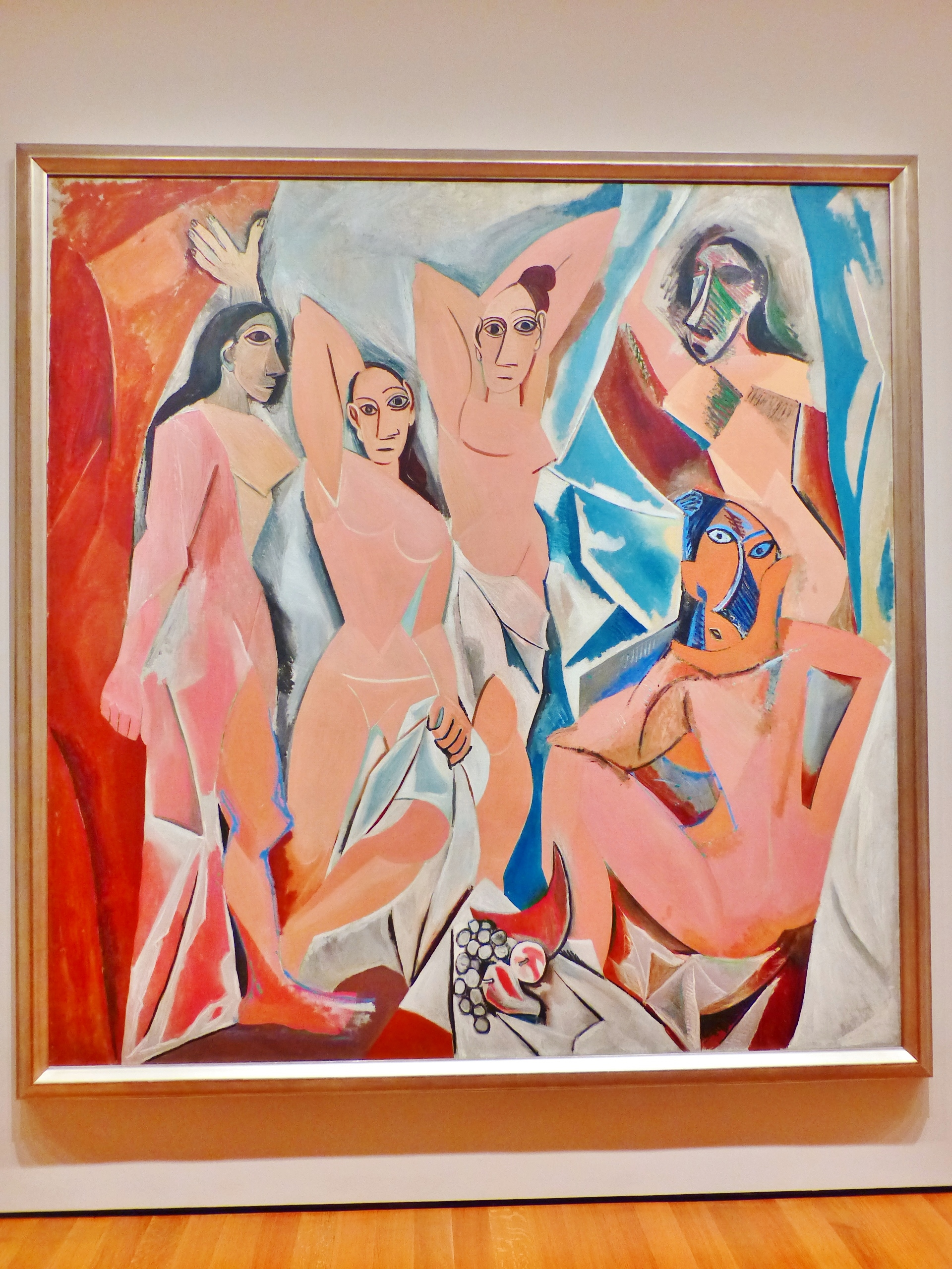 MoMA - Les Demoiselles d'Avignon, Picasso