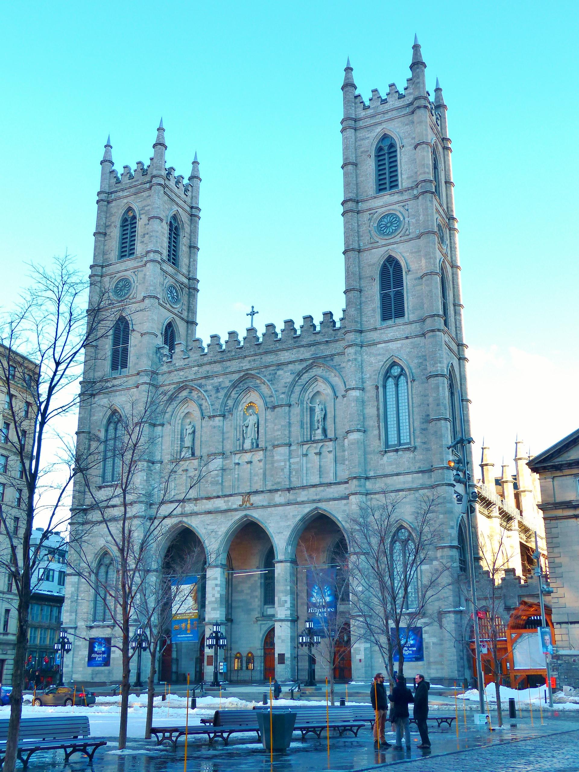 Montreal, Basilique Notre Dame de Montreal