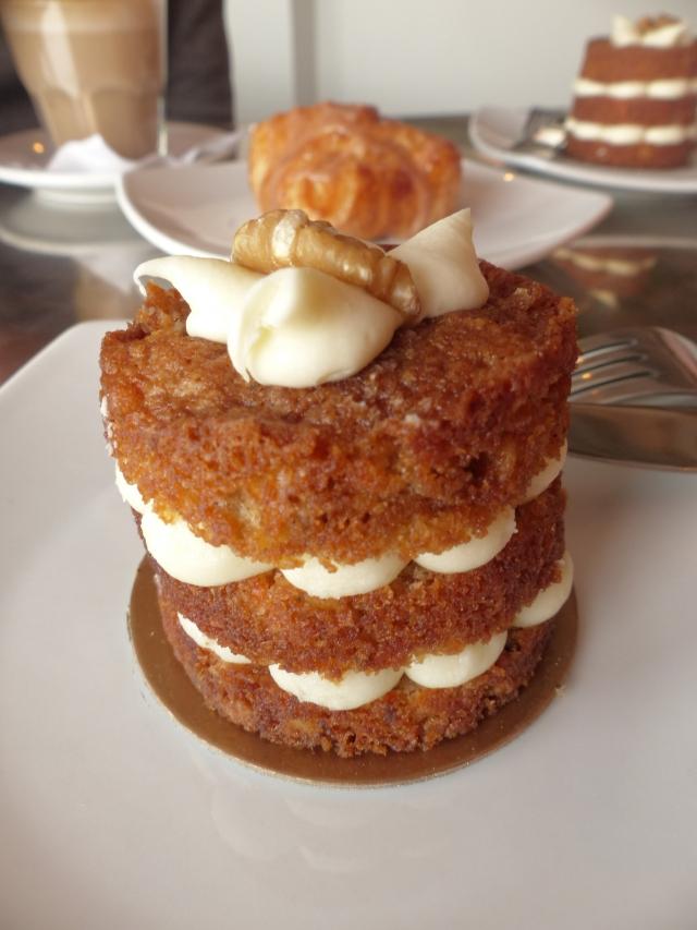 Montreal, La Ruche, Carrot cake