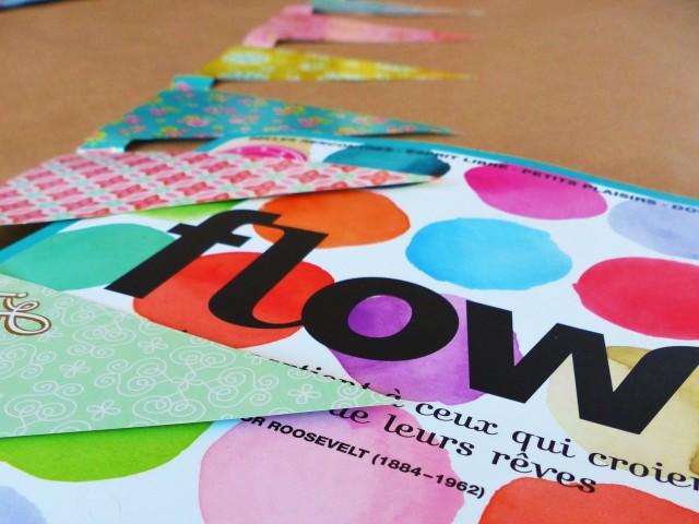 Magazine Flow n1 - Cadeau Guirlande