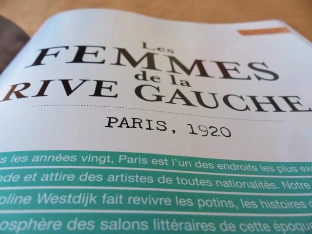 Magazine Flow n1 - Portrait Les femmes de la rive gauche