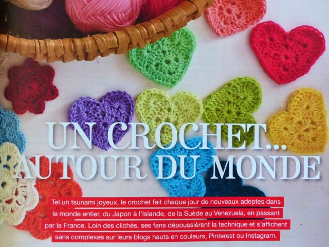Magazine Flow n1 - Portraits Crochet