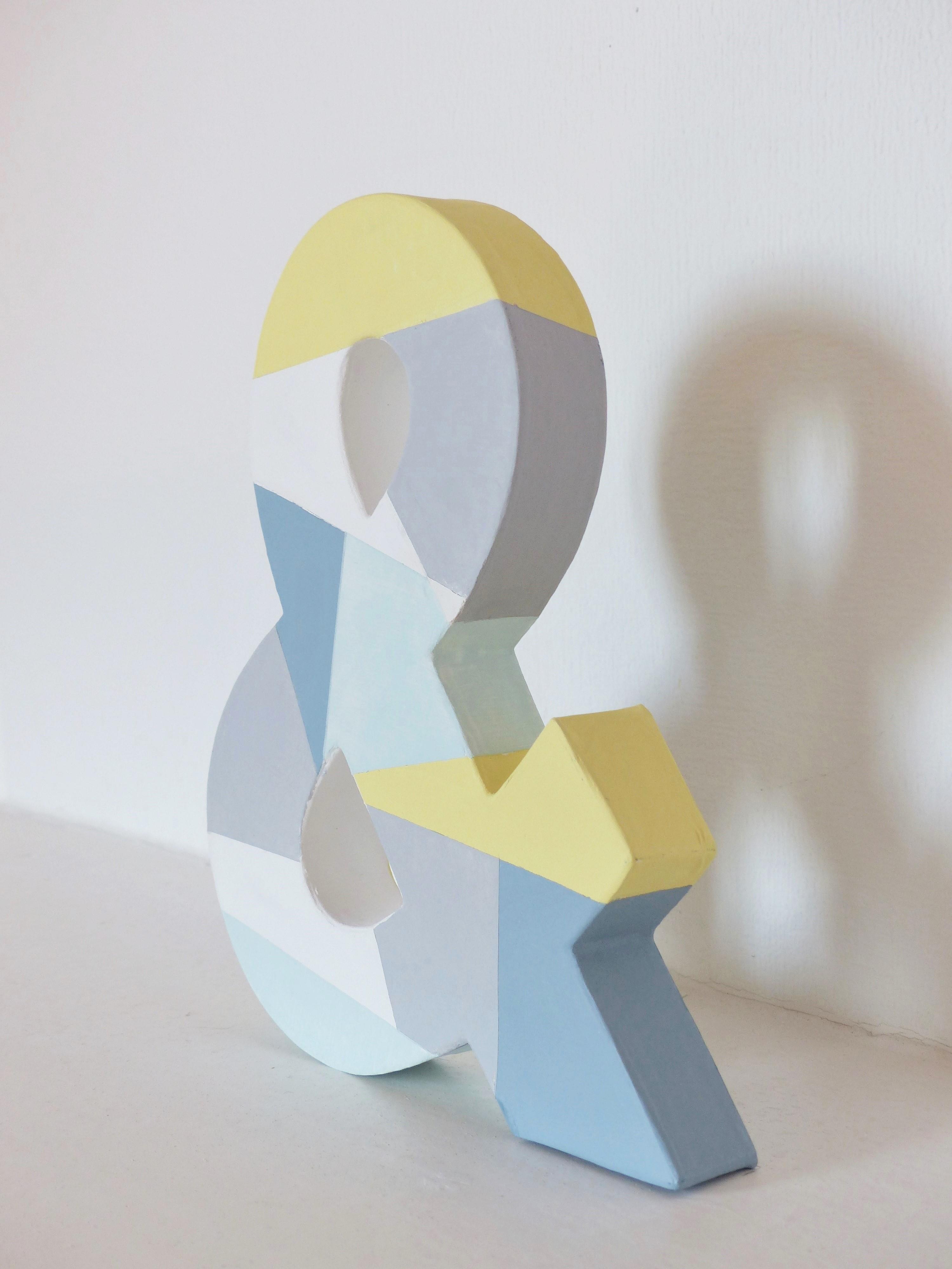 diy creer un objet decoratif aux formes geometriques pastel les carnets de gee. Black Bedroom Furniture Sets. Home Design Ideas