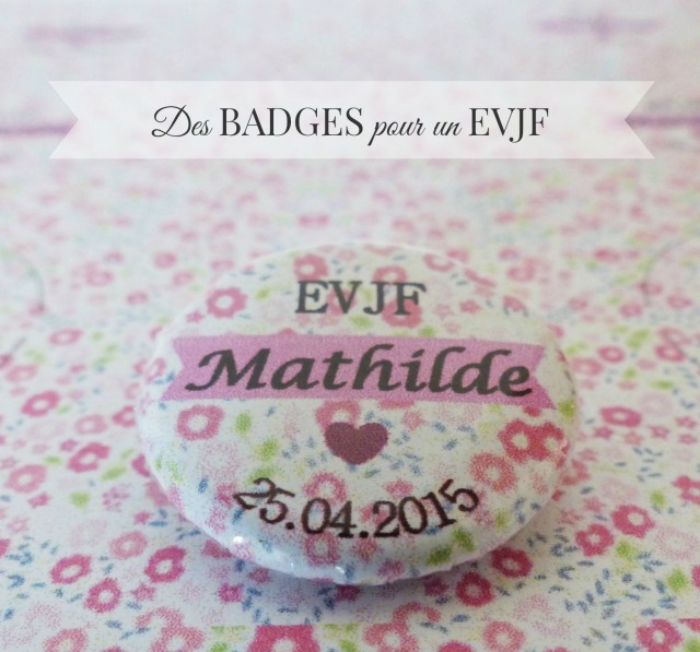DIY Badge EVJF