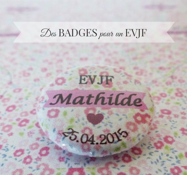 DIY Badge EVJF