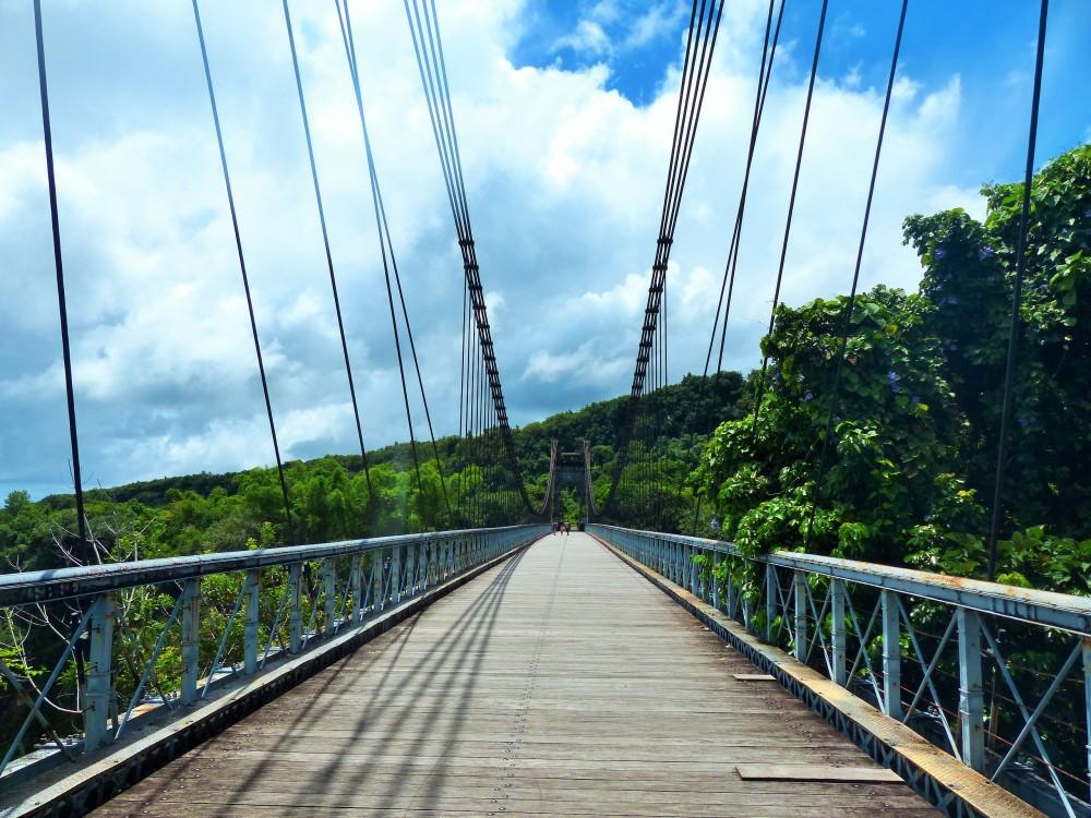 Pont suspendu - Sainte-Rose
