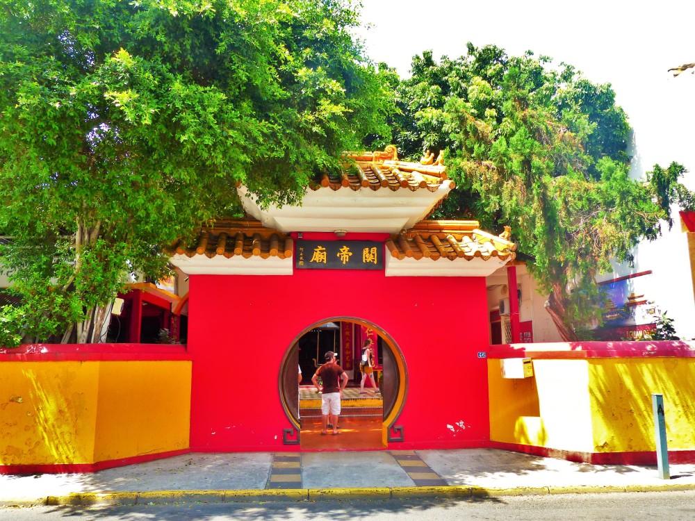Temple Bouddhiste Guan Di - Saint-Pierre