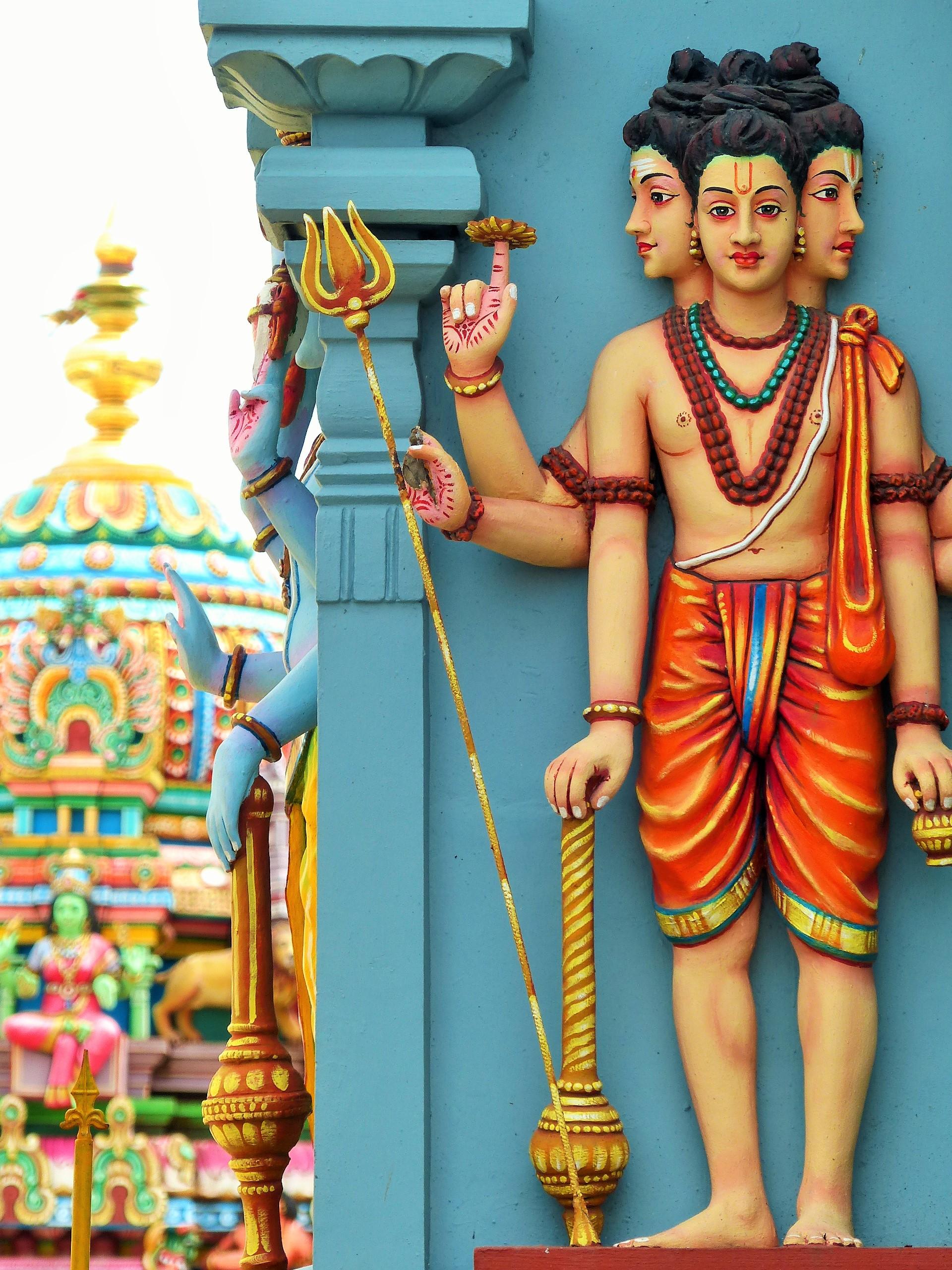 Temple Tamoul Shri Kali Kampal Kovil - Saint-Denis