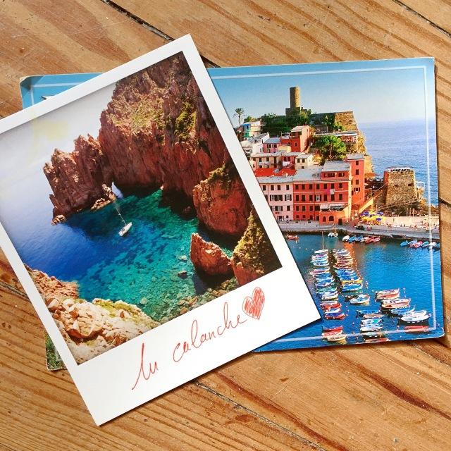 7 - Carte postale