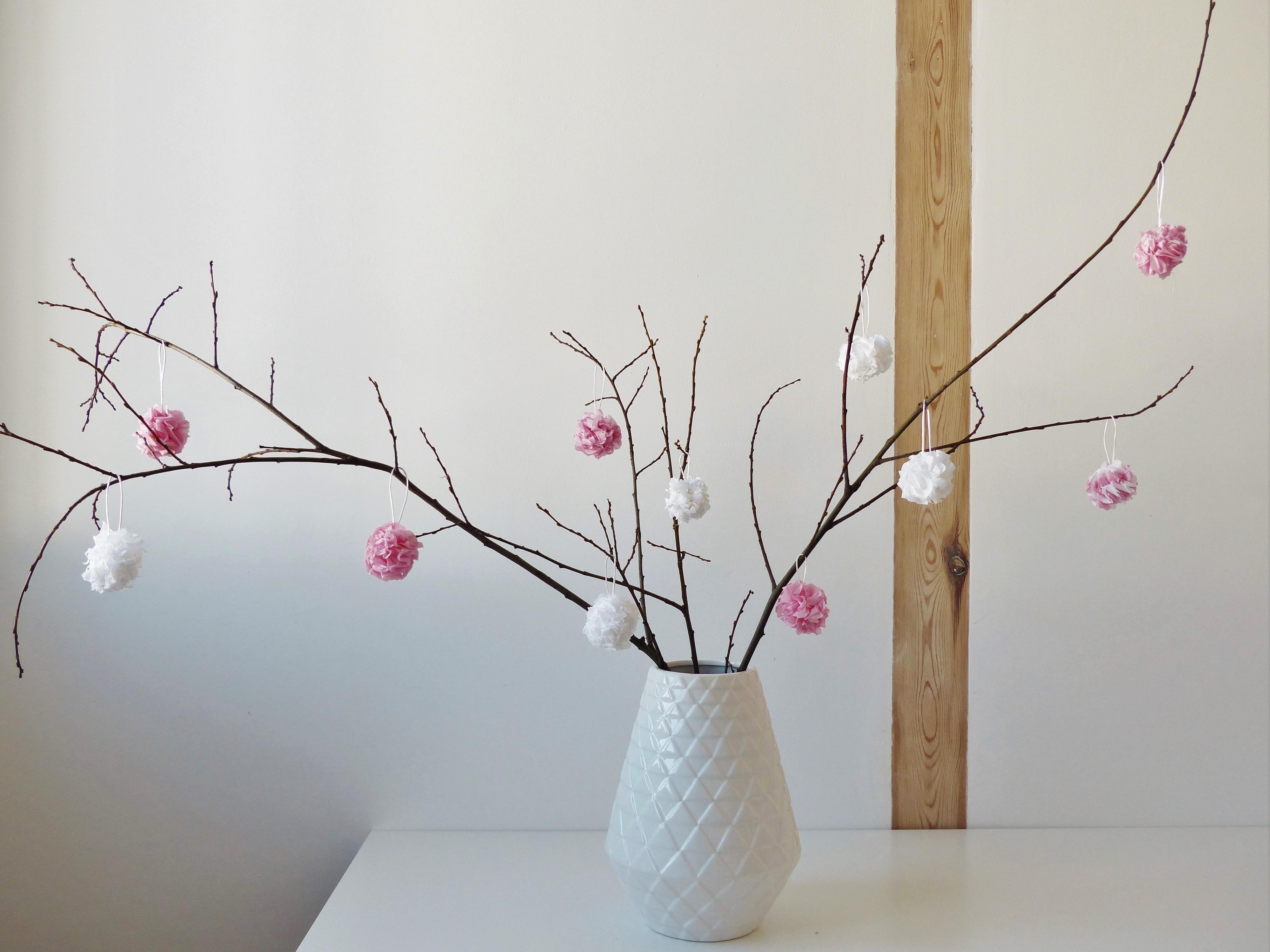 Fleurs crépon