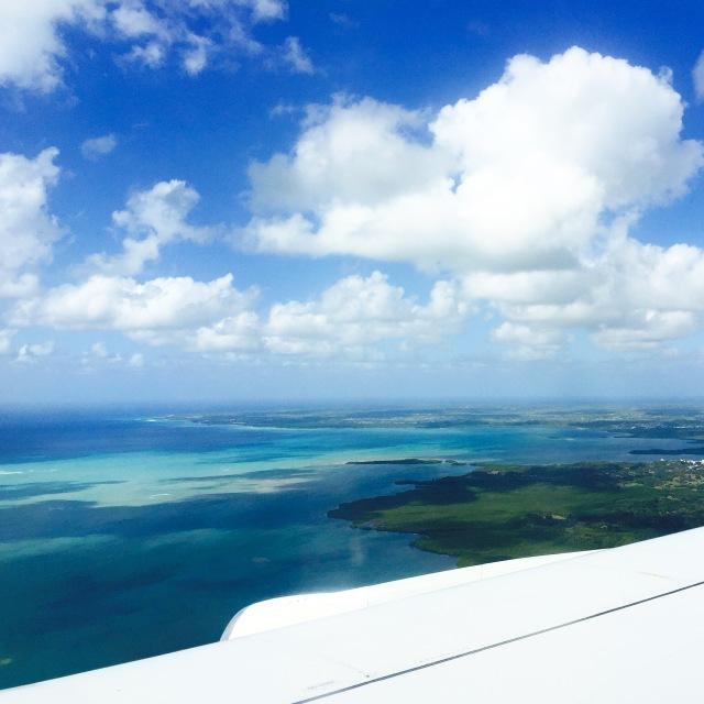 Arrivee en Guadeloupe