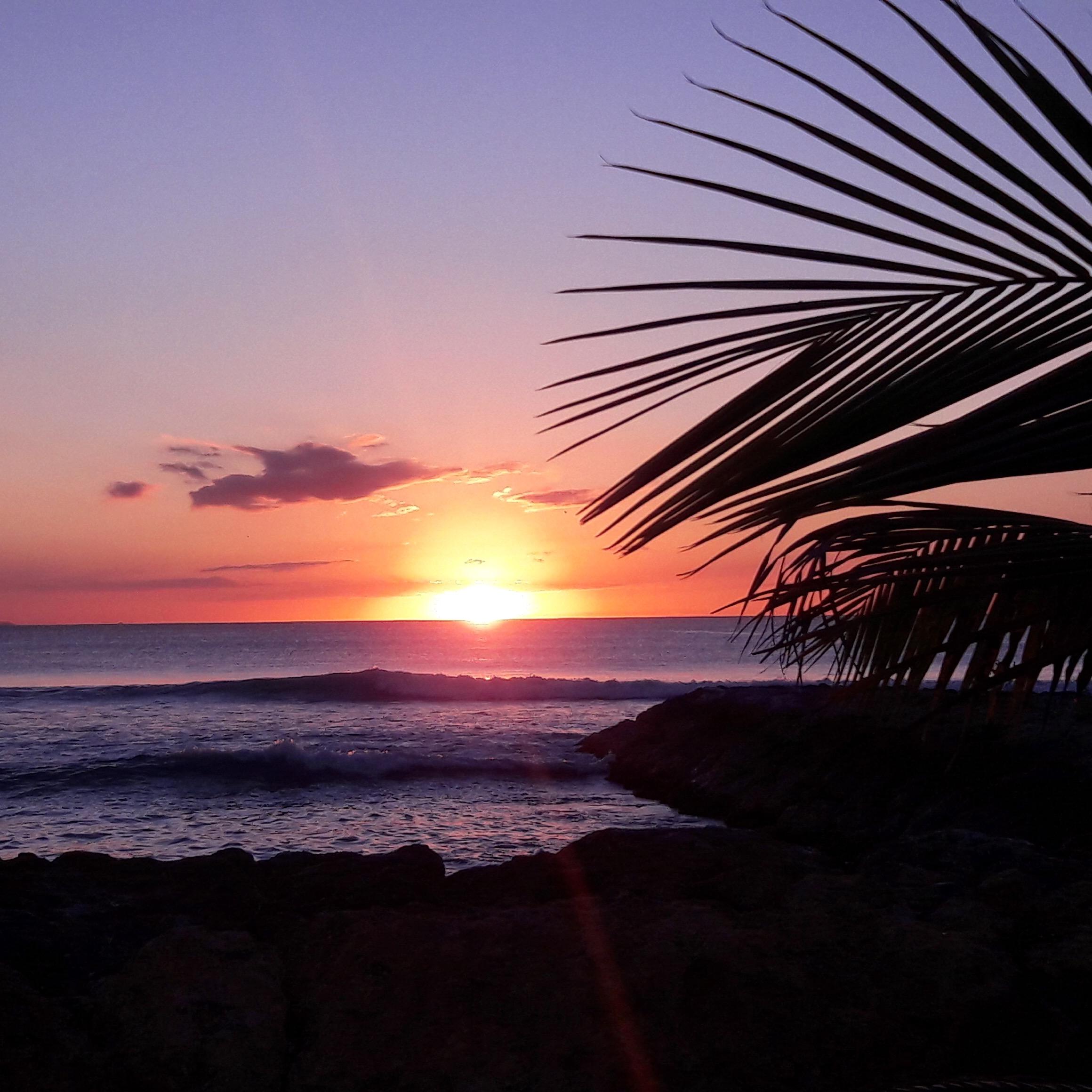 Coucher de soleil à Port-Louis
