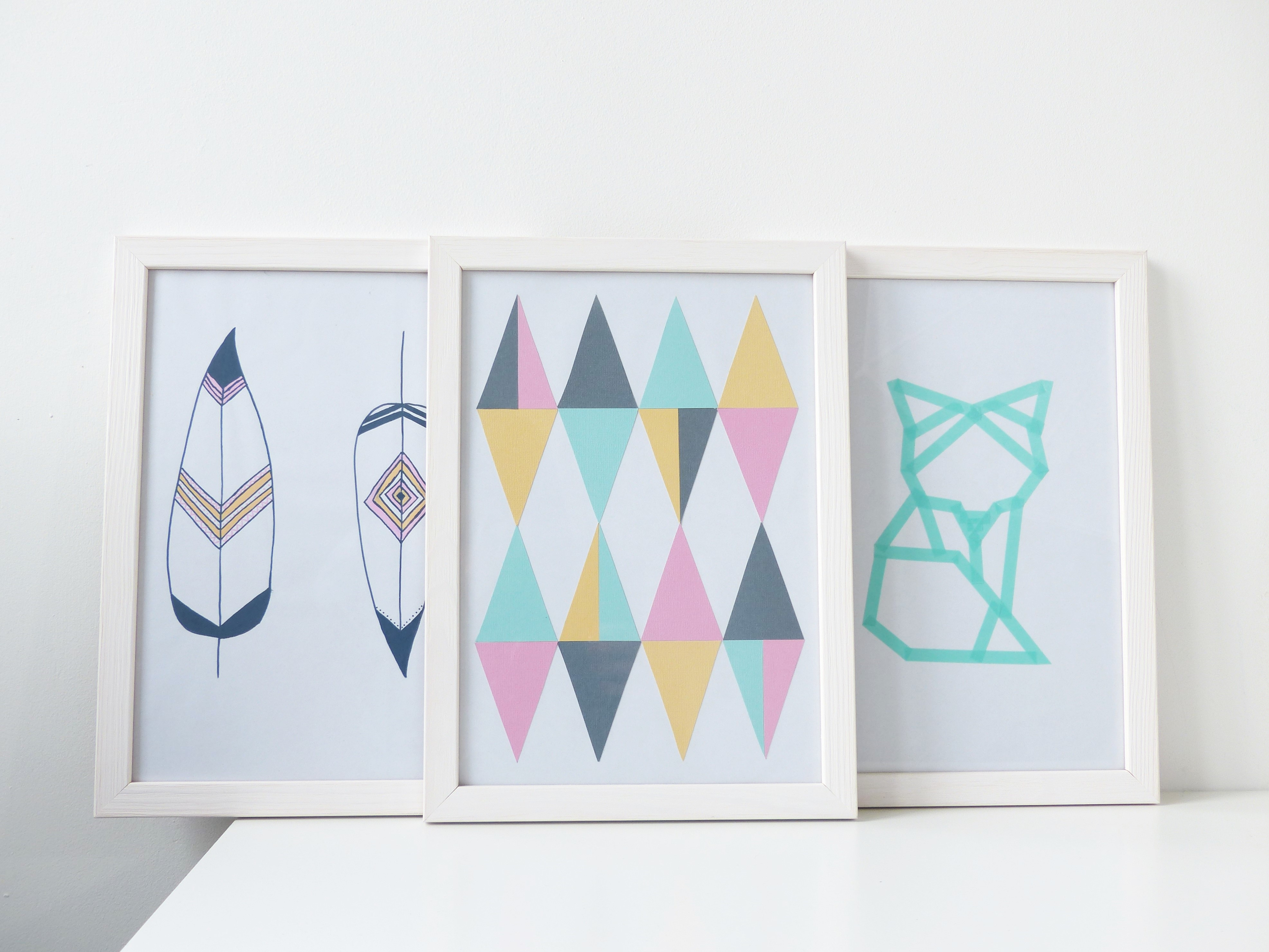 Cadres DIY Pinterest