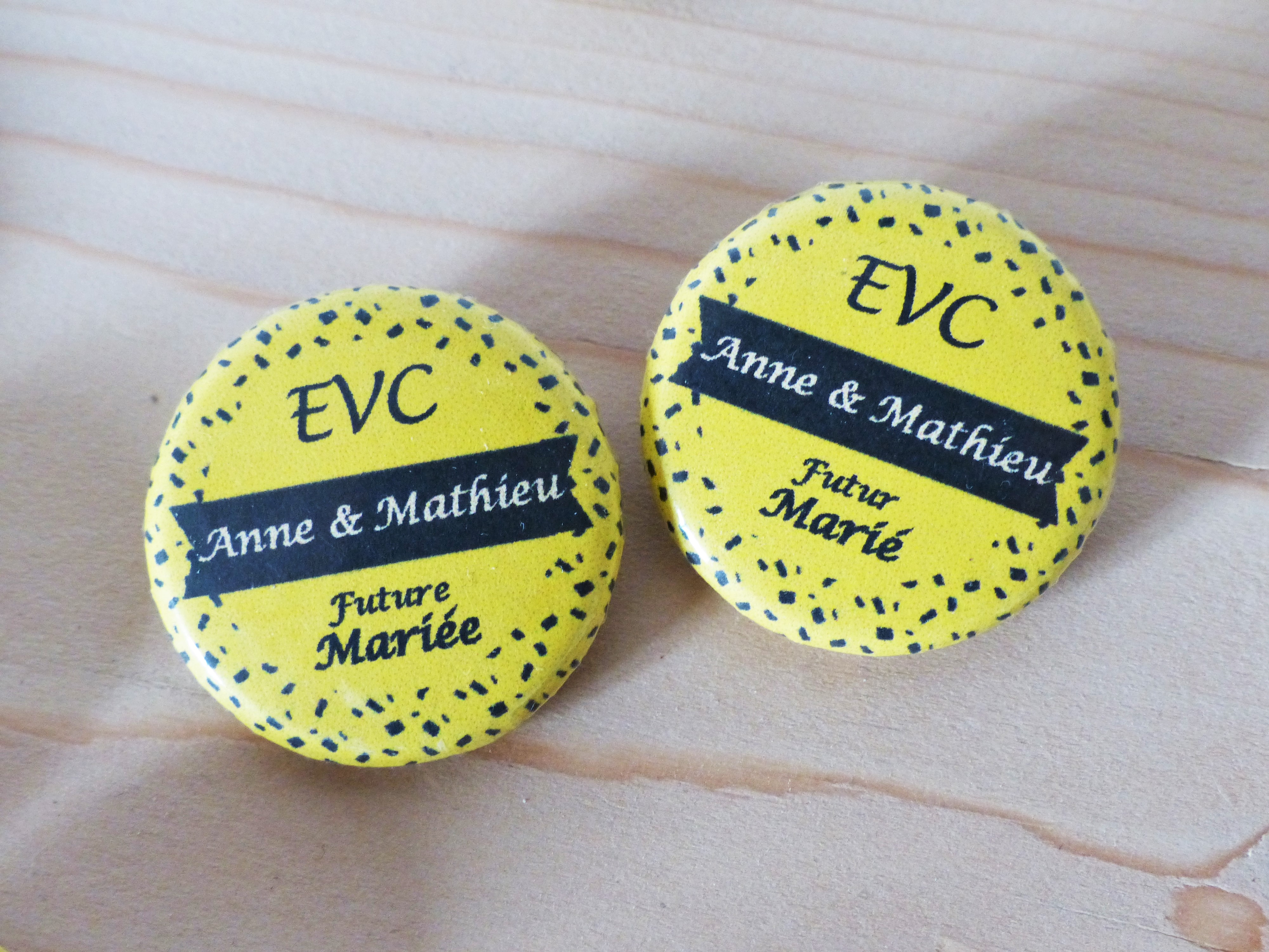 Badges EVC