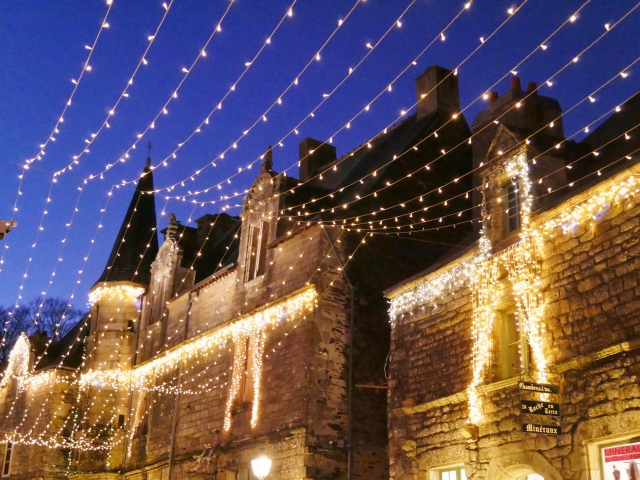 Rochefort-en-Terre Illuminations de Noel