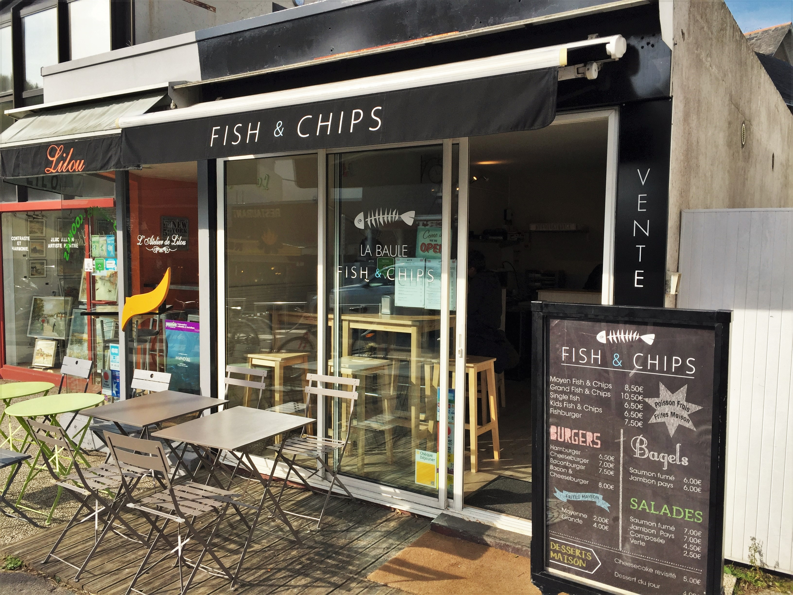 Pornichet La Baule Fish and Chips